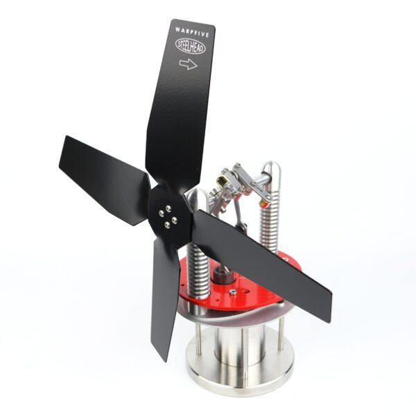 Steelhead Stove Fan Red Warpfive Fans