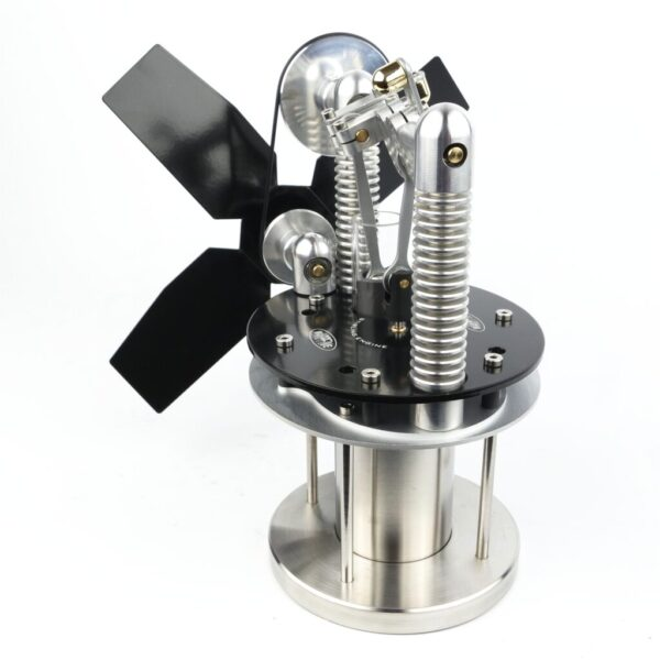 Stove Fan Stirling Engine Sidewinder Black