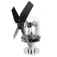 Legendary twin cylinder Stirling engine – provides high performance & maximum airflow