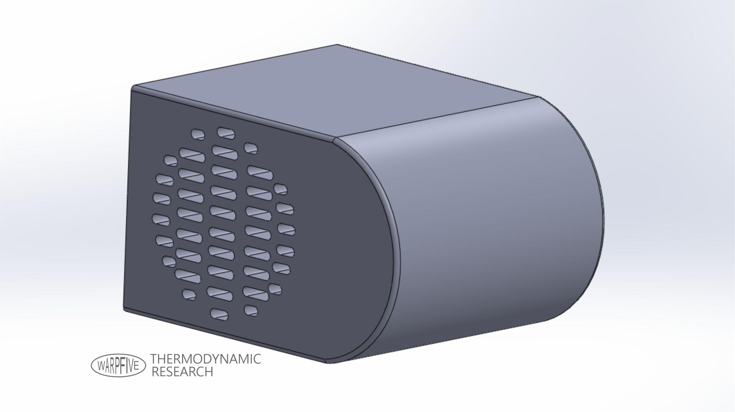 Warpfive heat exchanger development for use with alternative energy sources