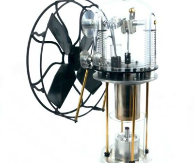 The Windjammer uses an alcohol burner to work and is perfect for people who live off-grid or homesteaders
