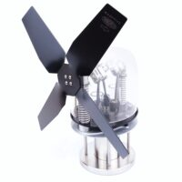 The Twinspeed 2 is a powerful stove fan which moves in excess of 442 CFM
